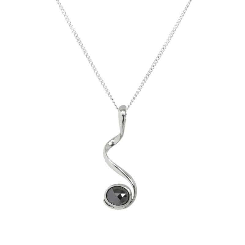 Diamond Pirouette Necklace 1