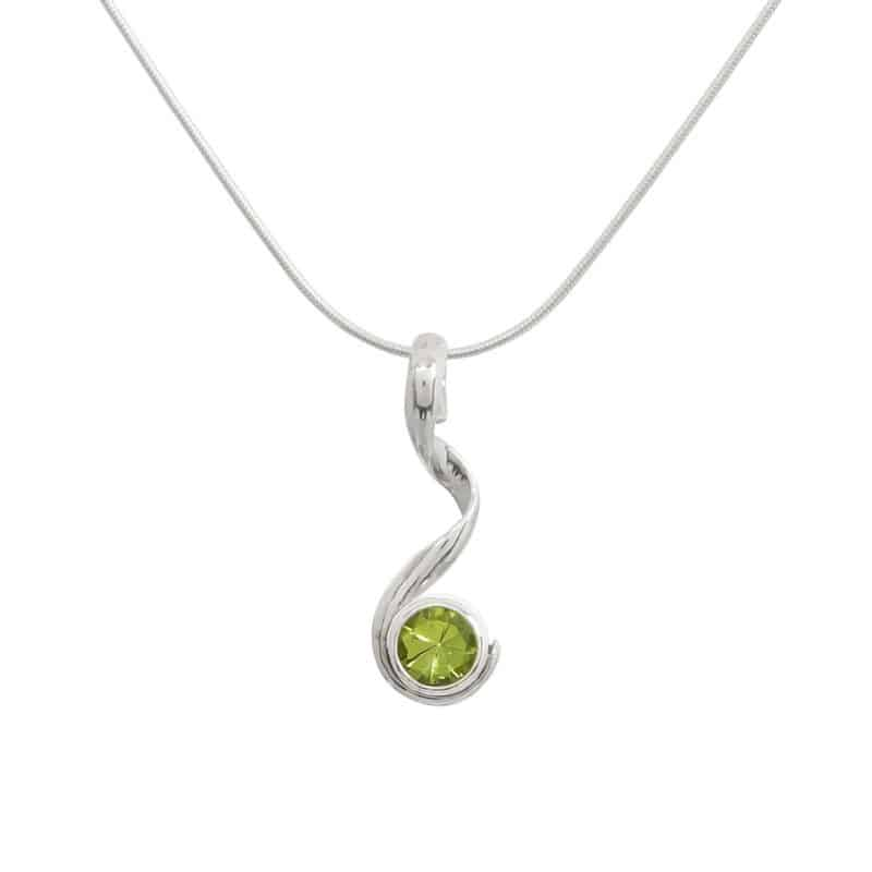 Peridot Pirouette Necklace 1