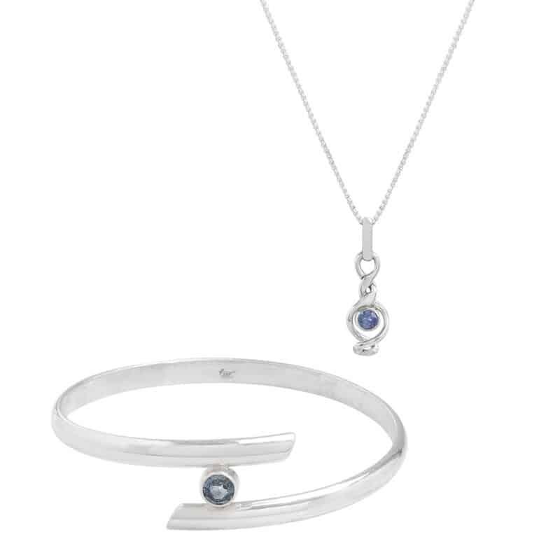 Blue Sapphire Set-2 piece
