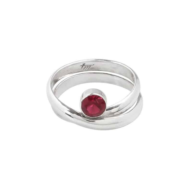 Embrace Rubilite Tourmaline Wrap Ring 1