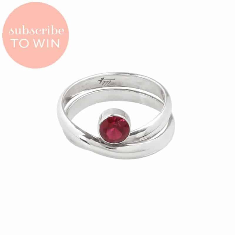 Embrace Rubilite Tourmaline Ring from Tamara Michelle Jewelry