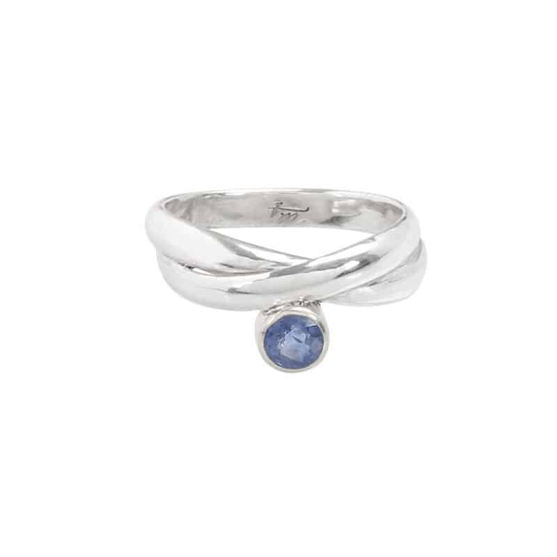 Embrace Sapphire Wrap Ring