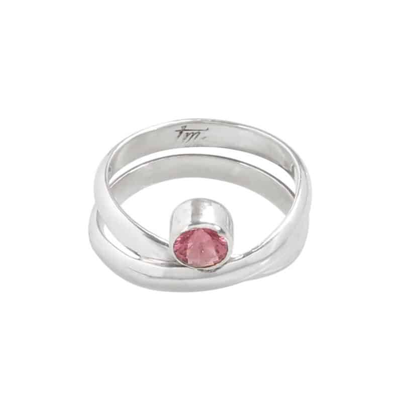 Embraced Tourmaline Wrap Ring 1